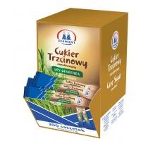 Cukier trzcinowy DIAMAT, w saszetkach, 200 szt. x 5 g, Cukier, Artykuły spożywcze