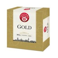 Herbata czarna TEEKANNE Gold, 100 torebek, 200 g, Herbaty, Artykuły spożywcze