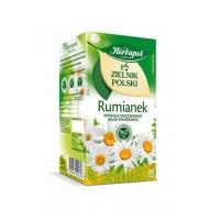 Herbata HERBAPOL Zielnik Polski, rumiankowa, 20 torebek, Herbaty, Artykuły spożywcze