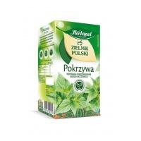 Herbata HERBAPOL Zielnik Polski, pokrzywowa, 20 torebek, Herbaty, Artykuły spożywcze