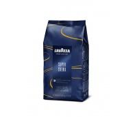 Kawa LAVAZZA SUPER CREMA AROMA ESPRESSO BLUE, ziarnista, 1 kg, Kawa, Artykuły spożywcze