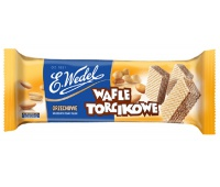 Mini cake wafers, E. Wedel, 160 g, nutty