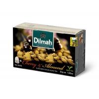 Herbata DILMAH, wiśnia i migdał, 20 torebek, Herbaty, Artykuły spożywcze