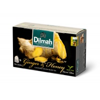 Herbata DILMAH, imbir i miód, 20 torebek, Herbaty, Artykuły spożywcze