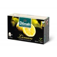 Herbata DILMAH, cytrynowa, 20 torebek, Herbaty, Artykuły spożywcze