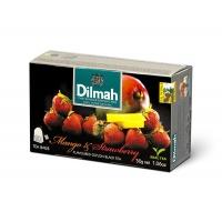 Herbata DILMAH, mango i truskawki, 20 torebek, Herbaty, Artykuły spożywcze