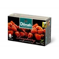 Herbata DILMAH, malinowa, 20 torebek, Herbaty, Artykuły spożywcze