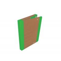 Teczka na rzepy DONAU LIFE, A4/3cm, zielona, Teczki przestrzenne, Archiwizacja dokumentów