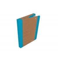 Teczka na rzepy DONAU LIFE, A4/3cm, niebieska, Teczki przestrzenne, Archiwizacja dokumentów