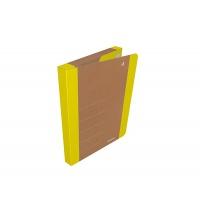 Teczka na rzepy DONAU LIFE, A4/3cm, żółta, Teczki przestrzenne, Archiwizacja dokumentów
