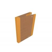 Teczka na rzepy DONAU LIFE, A4/3cm, pomarańczowa, Teczki przestrzenne, Archiwizacja dokumentów