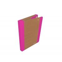 Teczka na rzepy DONAU LIFE, A4/3cm, różowa, Teczki przestrzenne, Archiwizacja dokumentów