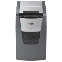 Niszczarka automatyczna REXEL OPTIMUM AUTOFEED+ 130X, P-4, 130 kart.,44l, czarna, Niszczarki, Urządzenia i maszyny biurowe