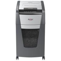 Niszczarka automatyczna REXEL OPTIMUM AUTOFEED+ 225X, P-4, 225 kart.,60l, czarna, Niszczarki, Urządzenia i maszyny biurowe