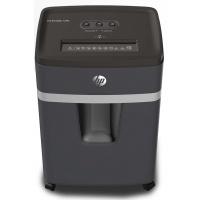 Niszczarka HP PRO SHREDDER 12MC, mikrościnki, P-5, 12 kart., 25l, ciemnoszara, Niszczarki, Urządzenia i maszyny biurowe