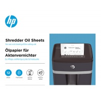 Arkusze olejowe do niszczarek HP, 12szt., Niszczarki, Urządzenia i maszyny biurowe