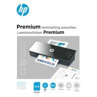 Folie laminacyjne HP PREMIUM, A4, 80 mic, 100 szt., przezroczyste/połysk, Akcesoria do laminacji i bindowania, Prezentacja
