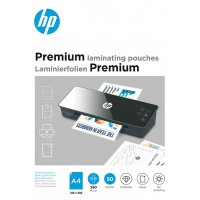 Folie laminacyjne HP PREMIUM, A4, 250 mic, 50 szt., przezroczyste/połysk, Akcesoria do laminacji i bindowania, Prezentacja