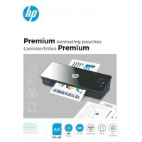 Folie laminacyjne HP PREMIUM, A3, 80 mic, 50 szt., przezroczyste/połysk, Akcesoria do laminacji i bindowania, Prezentacja