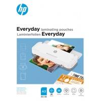 Folie laminacyjne HP EVERYDAY, A3, 80 mic, 25 szt., przezroczyste/połysk, Akcesoria do laminacji i bindowania, Prezentacja