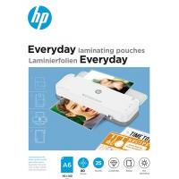 Folie laminacyjne HP EVERYDAY, A6, 80 mic, 25 szt., przezroczyste/połysk, Akcesoria do laminacji i bindowania, Prezentacja