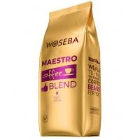 Kawa WOSEBA MAESTRO, ziarnista, 1000gr, Kawa, Artykuły spożywcze