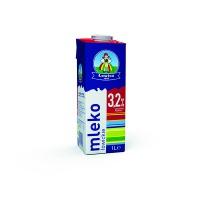Mleko ŁOWICKIE premium, UTH, 3,2%, 1l, Mleka i śmietanki, Artykuły spożywcze