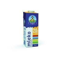 Mleko ŁOWICKIE premium, UTH, 2%, 1l, Mleka i śmietanki, Artykuły spożywcze
