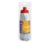 Mop sznurkowy FIXI, standard, biały, Akcesoria do sprzątania, Artykuły higieniczne i dozowniki