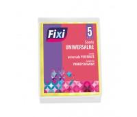 Ścierki uniwersalne FIXI, 5 szt., mix kolorów, Akcesoria do sprzątania, Artykuły higieniczne i dozowniki