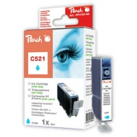 Tusz PEACH R Canon CLI-521C, 2934B001 (do Pixma IP 3600), cyan