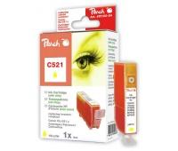 Tusz PEACH R Canon CLI-521Y, 2936B001 (do Pixma IP 3600), yellow
