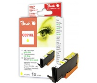 Ink PEACH Canon (CLI-551, CLI-551Y XL), compatible, yellow