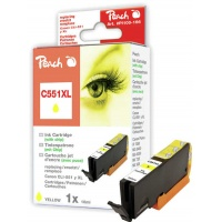 Tusz PEACH K Canon CLI-551Y XL (do Pixma IP 7200 Series), yellow