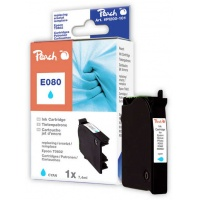 Tusz PEACH R Epson T0802 (do Stylus Photo P 50), cyan