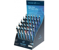 Display długopisów automatyczny SCHNEIDER Slider Rave, XB, 30 szt., miks kolorów, Długopisy, Artykuły do pisania i korygowania