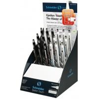 Display długopisów SCHNEIDER Epsilon Touch, XB, 18 szt., miks kolorów, Długopisy, Artykuły do pisania i korygowania