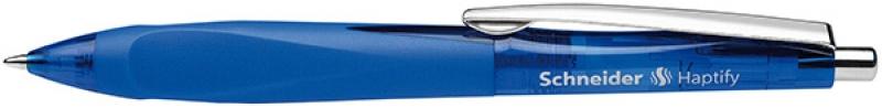 Długopis automatyczny SCHNEIDER Haptify, M, niebieski, Długopisy, Artykuły do pisania i korygowania