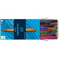 Długopis automatyczny SCHNEIDER Fave, M, miks kolorów, Długopisy, Artykuły do pisania i korygowania