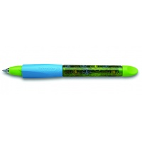 Pióro kulkowe SCHNEIDER Base Ball, M, niebieski/zielony, Cienkopisy, pióra kulkowe, Artykuły do pisania i korygowania