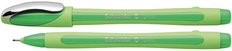 Cienkopis SCHNEIDER Xpress, 0,8 mm, zielony