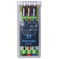 Zestaw cienkopisów SCHNEIDER Xpress, 0,8 mm, 3 szt., miks kolorów