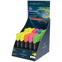 Display zakreślaczy SCHNEIDER Job, 1-5 mm, 35 szt., miks kolorów, Textmarkery, Artykuły do pisania i korygowania
