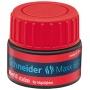 Stacja uzupełniająca SCHNEIDER Maxx 660, 30 ml, czerwony, Textmarkery, Artykuły do pisania i korygowania