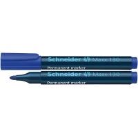 Marker permanentny SCHNEIDER Maxx 130, okrągły, 1-3mm, niebieski, Markery, Artykuły do pisania i korygowania