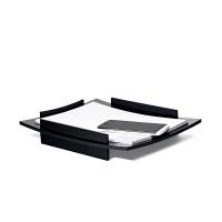 Szufladka na biurko CEP BLACK DIAMOND, A4, czarna, Szufladki na biurko, Drobne akcesoria biurowe