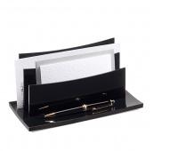 Sorter na dokumenty CEP BLACK DIAMOND, czarny, Pojemniki na dokumenty i czasopisma, Archiwizacja dokumentów