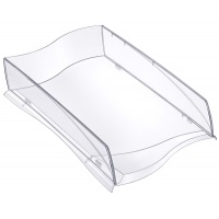 Szufladka na biurko CEP ELLYPSE, A4, transparentna, Szufladki na biurko, Drobne akcesoria biurowe