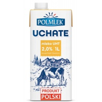 Mleko UHT POLMLEK 2%, 1l, Mleka i śmietanki, Artykuły spożywcze