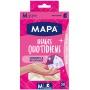 Rękawice nitrylowe MAPA QUOTIDIENS, bezpudrowe, 50szt., rozmiar M, białe
